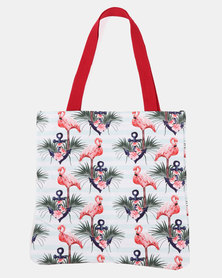 Blackcherry Bag Flamigo Beach Bag Multi
