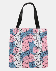 Blackcherry Bag Leaves  Beach Bag Multi