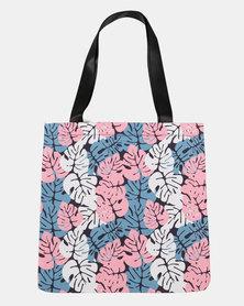 Blackcherry Bag Leaves  Beach Bag Multi