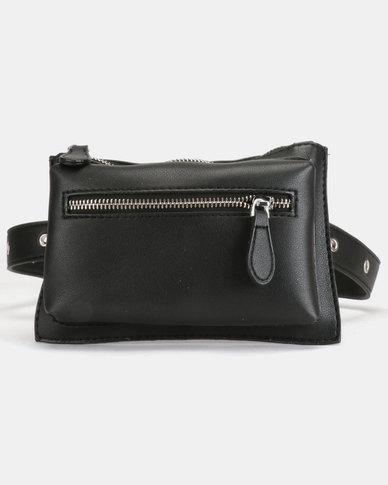 Blackcherry Bag Studded Belt Bag Black