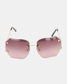 Bijoutique Large Sunglasses Purple