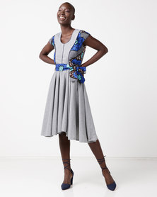 Jozsy Arra Dress Blue