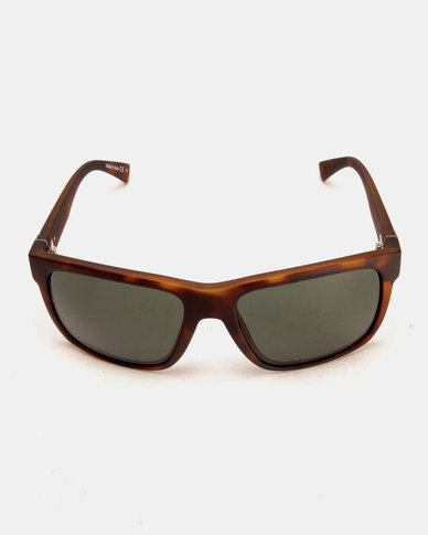 Von Zipper Maxis Sunglasses Tortoise Satin/Vintage Grey