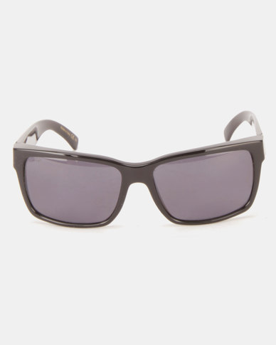 5f609d1e56 Von Zipper Elmore Sunglasses Black Gloss Wild Vintage Grey Polarised ...