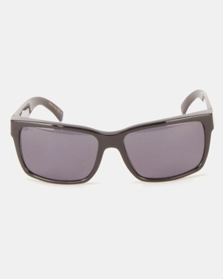 290d94a886 Von Zipper Elmore Sunglasses Black Gloss Wild Vintage Grey Polarised