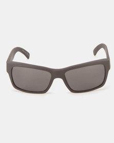 Von Zipper Fulton Sunglasses Black Satin/Grey