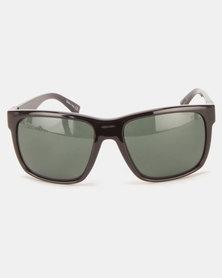 Von Zipper Maxis Sunglasses Black Gloss/Vintage Grey