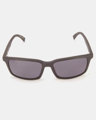 3fc153fbf58 Von Zipper Pinch Sunglasses Black Satin  Wild Vintage Grey Polarised