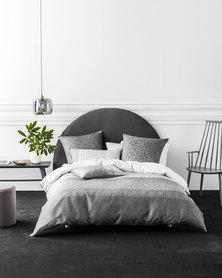 Linen House Catania Duvet Cover Set Grey