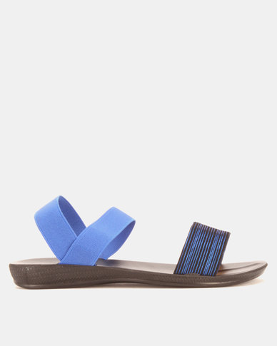 Candy Elasticated Sandals Navy
