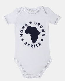 Home Grown HGA Logo Baby Grower Blue
