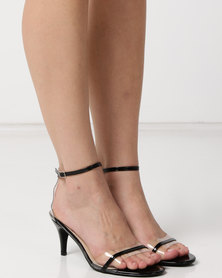 Utopia Kitten Heels Barely There Black