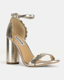 52994e46a46 Madison Sydney Clean Block Heel Sandals Rose Gold