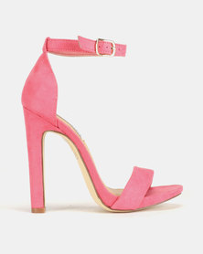Madison Tiara Clean Ankle Strap Heeled Sandals Honeysuckle