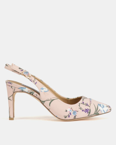 Madison Adrianna Slingback Court Light Floral