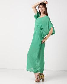 Utopia Maxi Tunic Dress Green