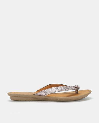 92880bf3a Tsonga Tslops Esitolo Sandals Antique Metal Grain Silver