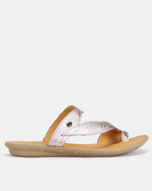 Tsonga Tslops Avele Sandals Antique Metal Grain Grey