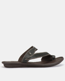 Tsonga Tslops Avele Sandals Cayak Black