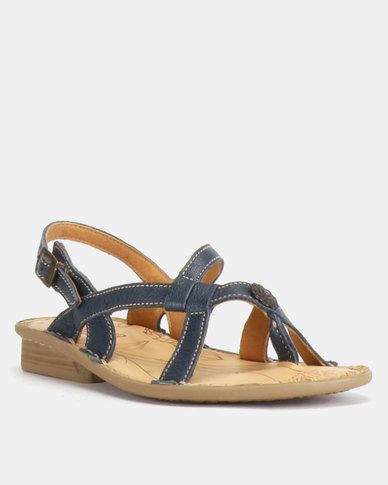 Tsonga Leather Finyana Sandal Sandals Denim Cayak