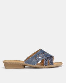 Tsonga Bashise Sandals Verlino Relaxa/Bluenotte Metal Grain