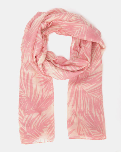 Lily & Rose Fern Scarf Pink