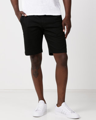 RVCA Weekend Stretch Shorts Black