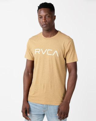 ac16fe6251 RVCA Big RVCA VD Short Sleeve Tee Apple Cinnamonn