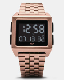 adidas Originals Watches Archive M1 Watch Rose Gold-plated/Black