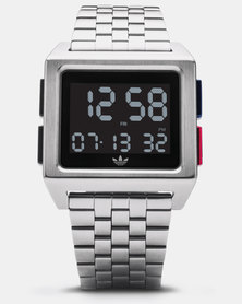 adidas Originals Watches Archive M1 Watch Silver-plated
