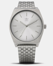 adidas Originals Watches Process M1 Watch Silver-plated