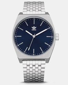 adidas Originals Watches Process M1 Watch Silver