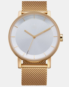 adidas Originals Watches District M1 Watch Gold-plated