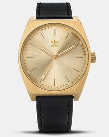 adidas Originals Watches Process L1 Watch Gold-plated/Black