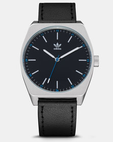 adidas Originals Watches Process L1 Watch Silver-plated/Black