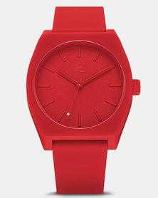 adidas Originals Watches Process SP1 Watch Red