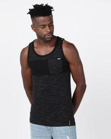 Zoo York Pocket Vest Black
