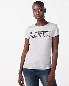 Levi's® Slim Crew Logo Tee Grey