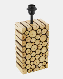 Eurolux Ribadeo Hungy Wood Lamp Base