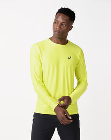 ASICS Long Sleeve Top Yellow