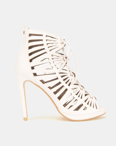 Dolce Vita Yuko Heel Sandals White