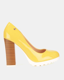 Dolce Vita Roman Heels Yellow