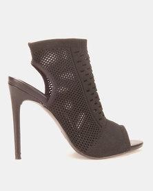 Dolce Vita Malaga Knit Heels Black