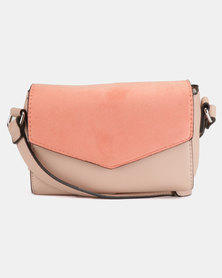 New Look Stella Crossbody Bag Dark Coral
