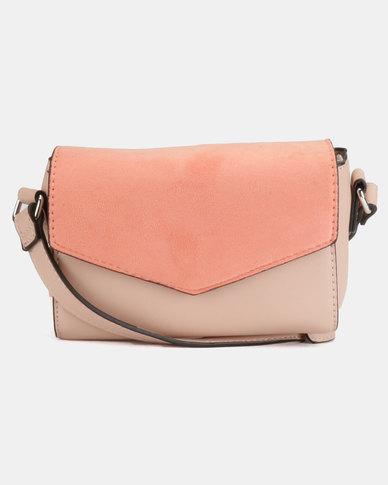 New Look Stella Crossbody Bag Dark Coral
