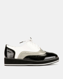 Dolce Vita Sky Walker Lace Ups Black/Grey/White