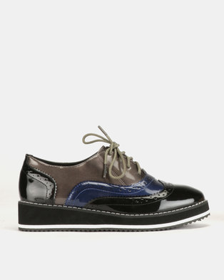 Dolce Vita Sky Walker Lace Ups Navy Grey