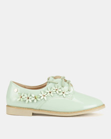 Dolce Vita Charlotte Flower Brogues Blue