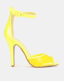 Dolce Vita Nolan Ankle Strap Heels Yellow