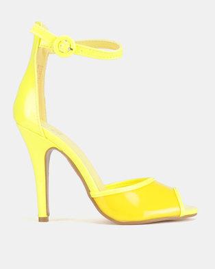 b2c4b3caf17 Dolce Vita Nolan Ankle Strap Heels Yellow